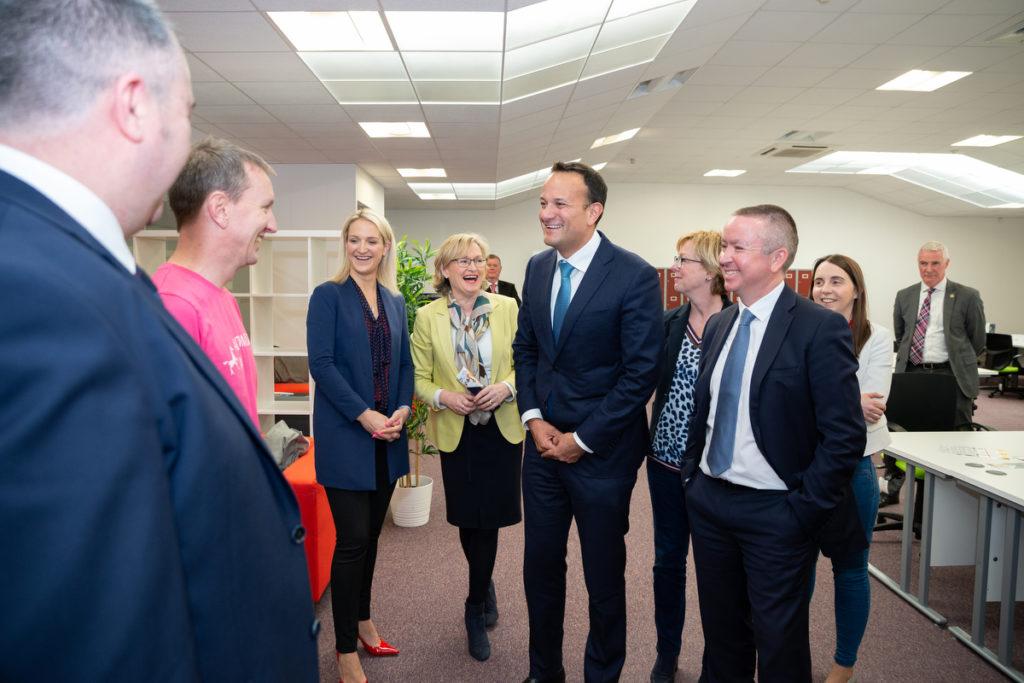 An Taoiseach Leo Varadkar at Kells Tech Hub.