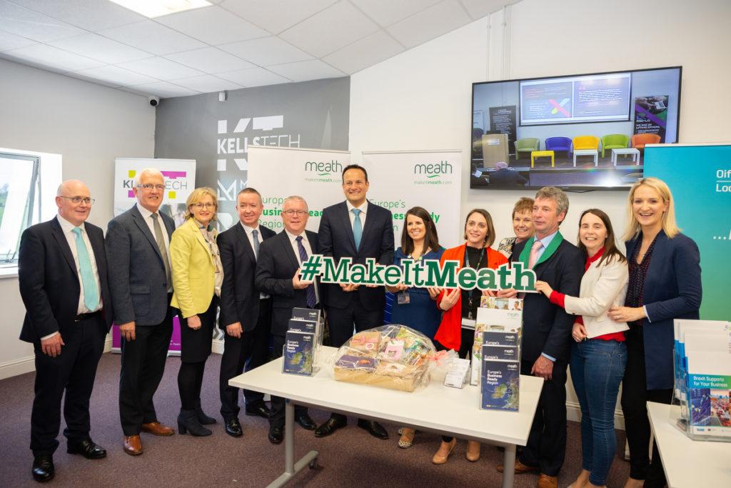 An Taoiseach Leo Varadkar meets the team from Meath County Council - #MakeItMeath