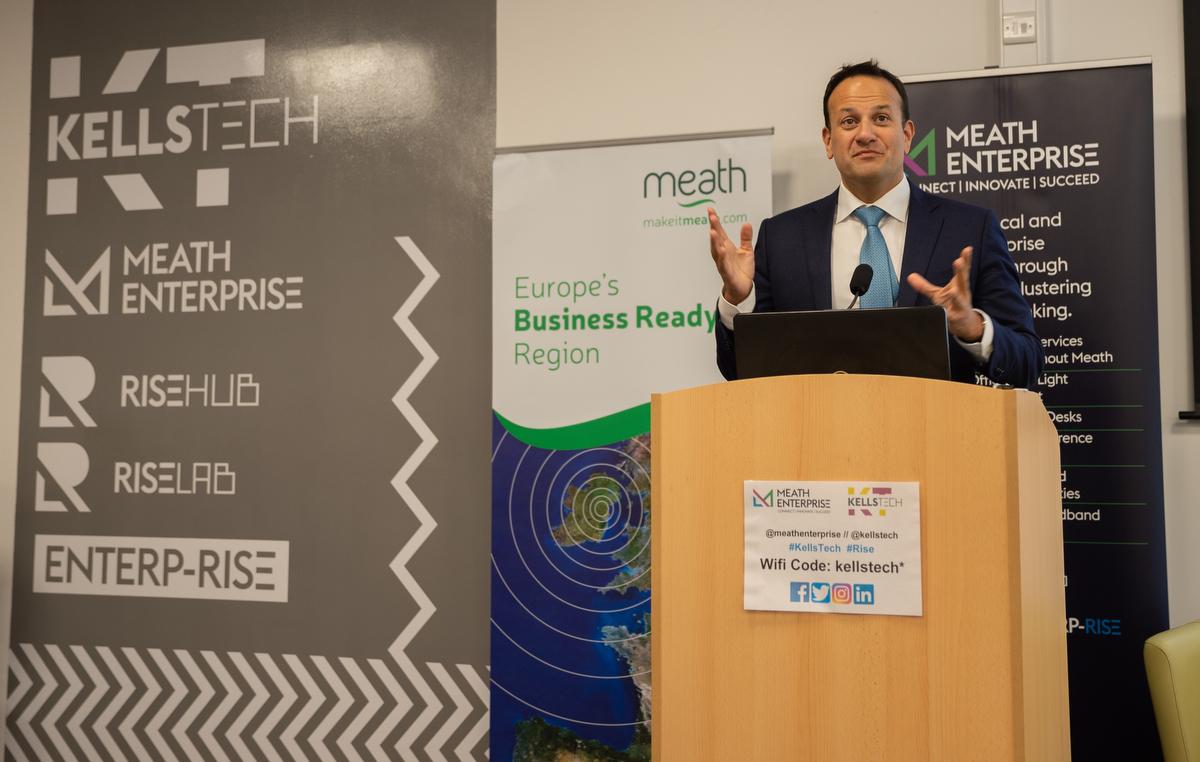 An Taoiseach Leo Varadkar - Meath Enterprise, Kells Tech, GSER2019 - Startup Ecosystems